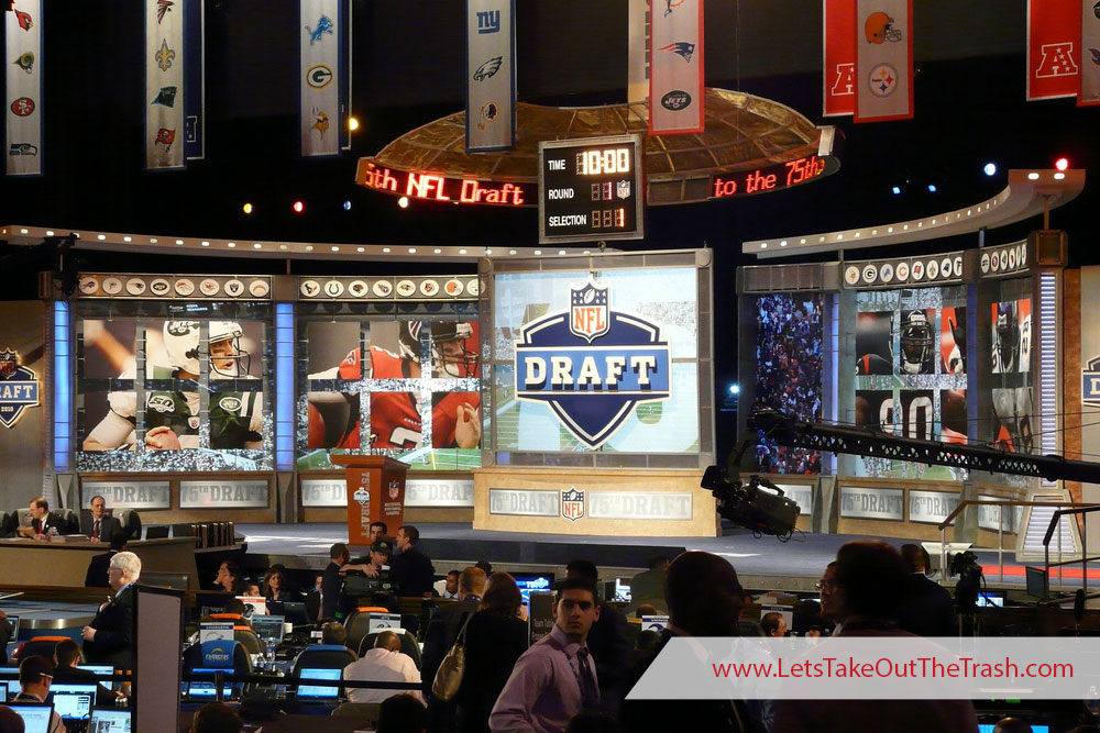 NFL Draft Day 2019 - Who Would You Choose? | LetsTakeOutTheTrash.com